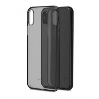 Coque Apple iPhone X SuperSkin Moshi Noir Carbone
