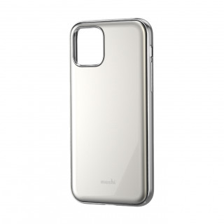Coque iPhone 11 Moshi iGlaze Blanc Perlé