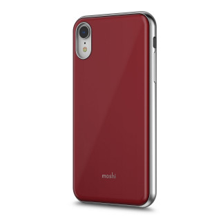 Coque iPhone XR Moshi iGlaze Rouge Merlot