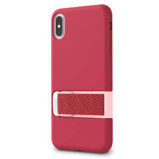 Coque iPhone XS Max Moshi Capto Rose