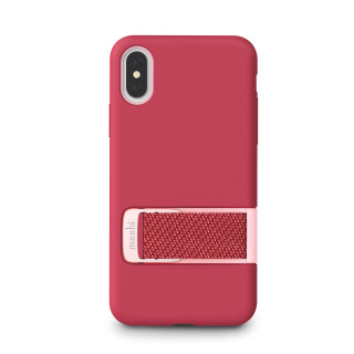 Coque iPhone XS/X Moshi Capto Rose