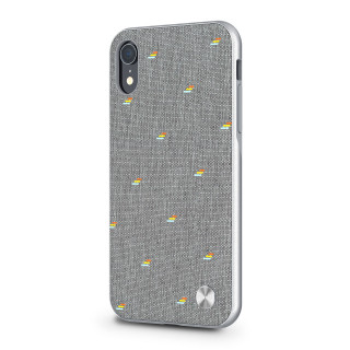 Coque iPhone XR Vesta Moshi Gris Galet