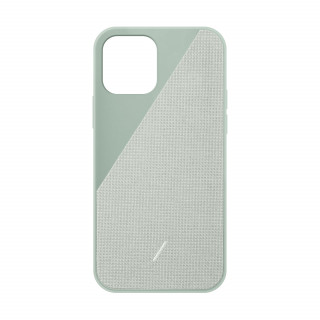 Coque Apple iPhone 12/12 Pro Clic Canvas Native Union Vert Sauge