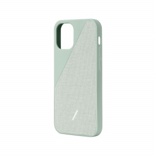 Coque Apple iPhone 12 Mini Clic Canvas Native Union Vert Sauge