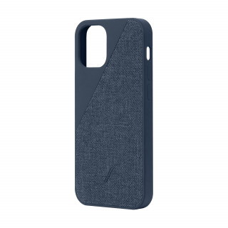Coque Apple iPhone 12 Pro Max Clic Canvas Native Union Indigo