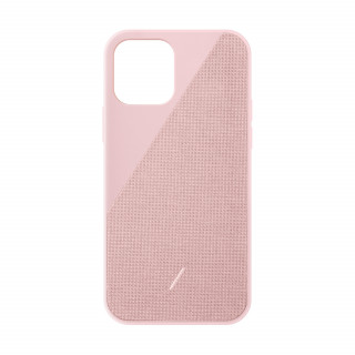 Coque Apple iPhone 12/12 Pro Clic Canvas Native Union Rose