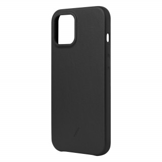 Coque Apple iPhone 12 Pro Max Clic Classic Native Union Cuir Noir