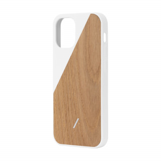 Coque Apple iPhone 12 Pro Max Clic Wooden Native Union Chêne/Blanc