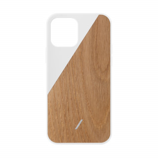 Coque Apple iPhone 12/12 Pro Clic Wooden Native Union Chêne/Blanc