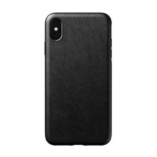 Coque Cuir Apple iPhone XS/X Nomad Rugged Noir