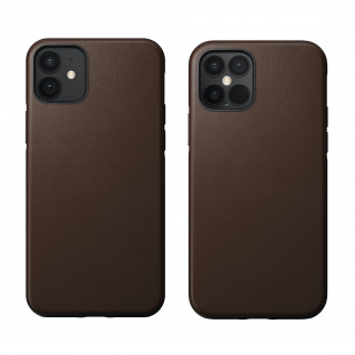 Coque Cuir Apple iPhone 12/12 Pro Nomad Rustic Brown