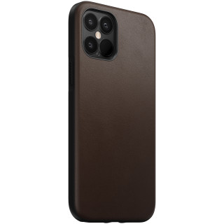 Coque Cuir Apple iPhone 12 Pro Max Nomad Rustic Brown