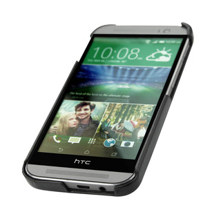 "Coque Cuir HTC One M8 Noreve ""Tradition E"" Noire"