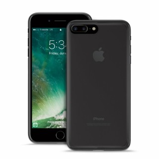 Coque Apple iPhone 7 Plus Puro Plasma Cover Noir