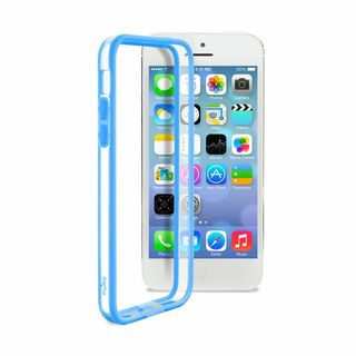 Bumper Apple iPhone 5C Bleu Puro