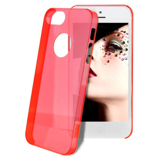 "Coque Apple iPhone 5C ""Crystal"" Rose Puro"