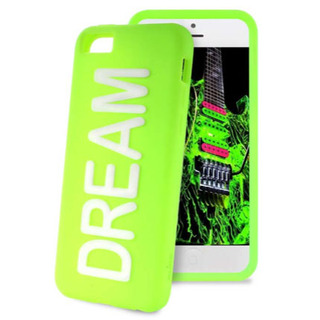 "Coque Apple iPhone 5C Night Cover ""DREAM"" Verte Puro"