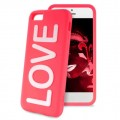 "Coque Apple iPhone 5C Night Cover ""LOVE"" Rose Puro"