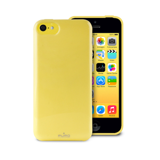 "Coque Apple iPhone 5C ""Anti-Shock"" Jaune Puro"
