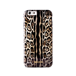 Coque Just Cavalli Apple iPhone 6/6s Leopard Single Stripe Puro