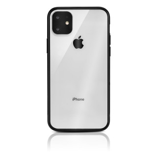 Coque Apple iPhone 11 Hybrid QDOS Noir
