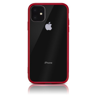 Coque Apple iPhone 11 Hybrid QDOS Rouge
