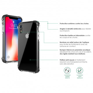 Coque Apple iPhone 11 Shox QDOS Transparent