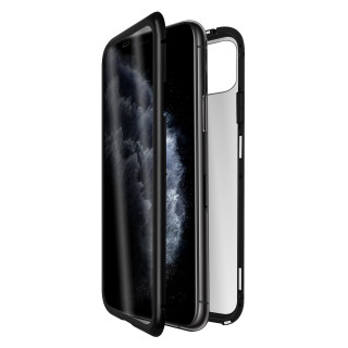 Coque Apple iPhone 11 Pro Max Optiguard Infinity Glass Privacy Intégrale QDOS
