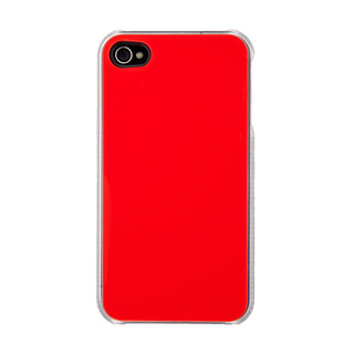 "Coque QDOS Apple iPhone 5/5S/SE ""Smoothies Pure"" Rouge"