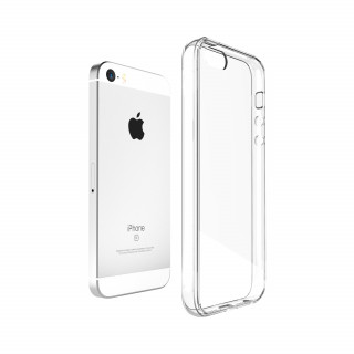 Coque Apple iPhone 5/5S/SE Hybrid QDOS Transparent