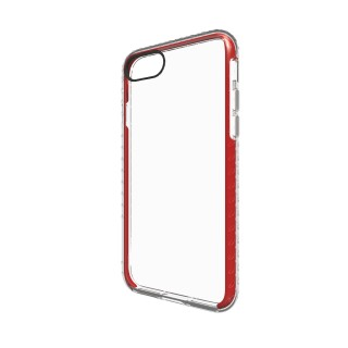 Coque Apple iPhone 7/8 Shox QDOS Transparent/Rouge