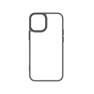 Coque Apple iPhone 12/12 Pro Hybrid QDOS Gris Sidéral