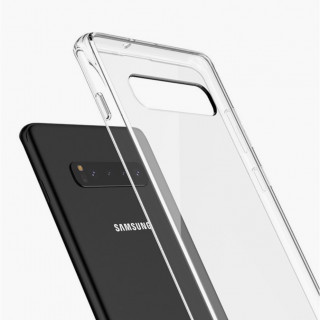 Coque Samsung Galaxy S10 Hybrid QDOS Transparent