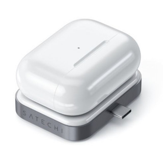 Support De Charge Sans Fil AirPods Satechi USB-C