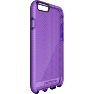 Coque Tech21 iPhone 6/6s Evo Mesh Violet/Blanc