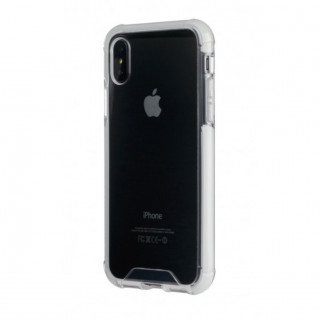Coque Apple iPhone XS/X Tucano Denso Transparent/Blanc