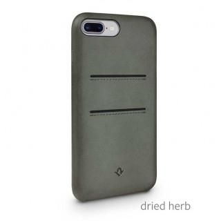 Coque iPhone 8 Plus/7 Plus Twelve South Relaxed Cuir Vert