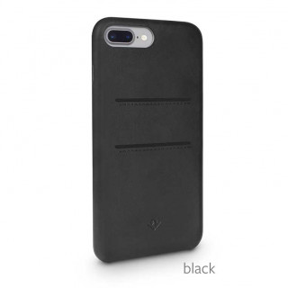 Coque iPhone 7 Plus/8 Plus Twelve South Relaxed Leather Noir CB