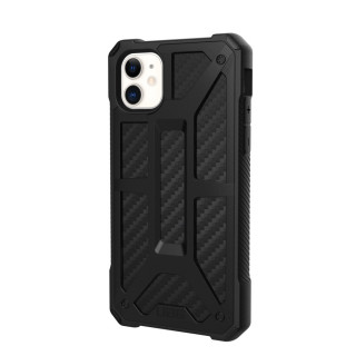 Coque Apple iPhone 11 UAG Monarch Noir/Fibre Carbone