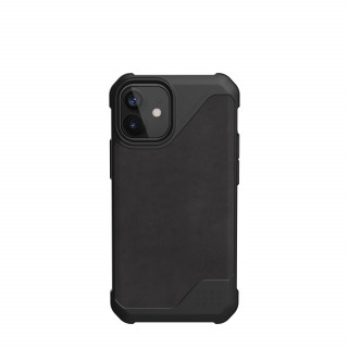 Coque Apple iPhone 12 Mini UAG Metropolis LT Cuir Noir