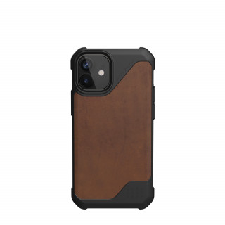 Coque Apple iPhone 12 Mini UAG Metropolis LT Cuir Marron