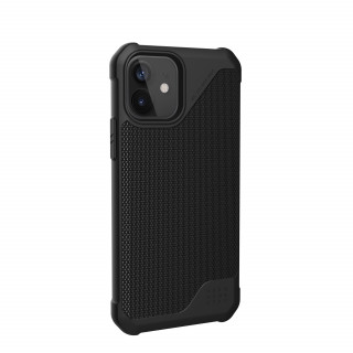 Coque Apple iPhone 12/12 Pro UAG Metropolis LT Fibre Noire