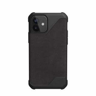 Coque Apple iPhone 12/12 Pro UAG Metropolis LT Cuir Noir