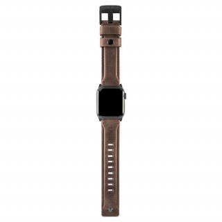 Bracelet Apple Watch Cuir Marron 42/44mm UAG