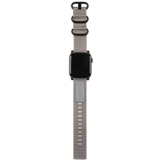 Bracelet Apple Watch Nato Gris 42/44mm UAG