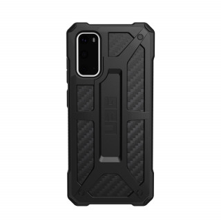 Coque Samsung Galaxy S20 UAG Monarch Noir/Fibre Carbone