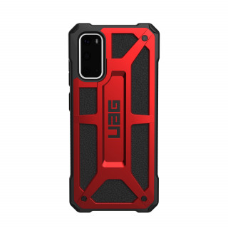 Coque Samsung Galaxy S20 UAG Monarch Noir/Rouge Crimson