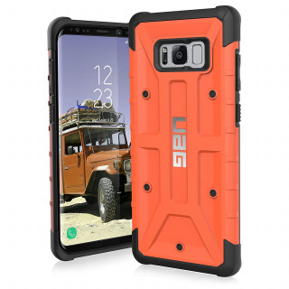 Coque Renforcée Samsung Galaxy S8 Plus UAG Pathfinder Orange