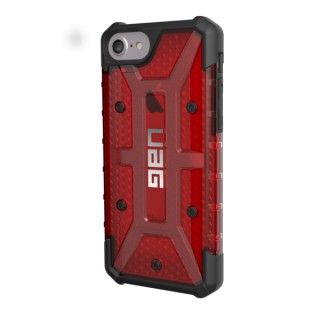 Coque Renforcée Apple iPhone 7/8/6s/6 UAG Plasma Magma Rouge