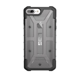 Coque Renforcée Apple iPhone 7 Plus/8 Plus/6s Plus/6 Plus UAG Plasma Gris Transparent